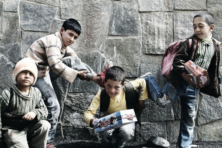 Day Friendship People Togetherness Young Men Business Artgallery Outside Photography Children Only Canonphotography Play Streetphotography View Canon 7D Documentary Photography City Picture Of The Day Documents Iran Shot Outdoors Boys Iran Childhood Close-up Baby
