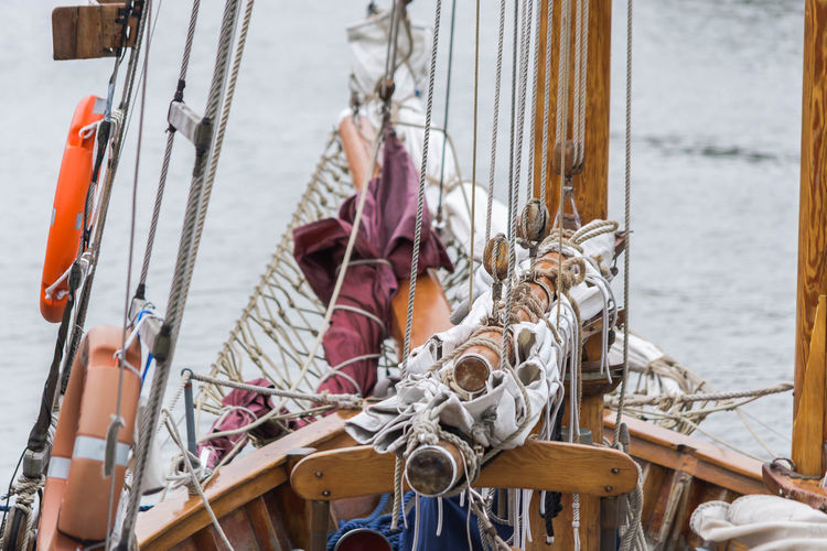 View of rigging