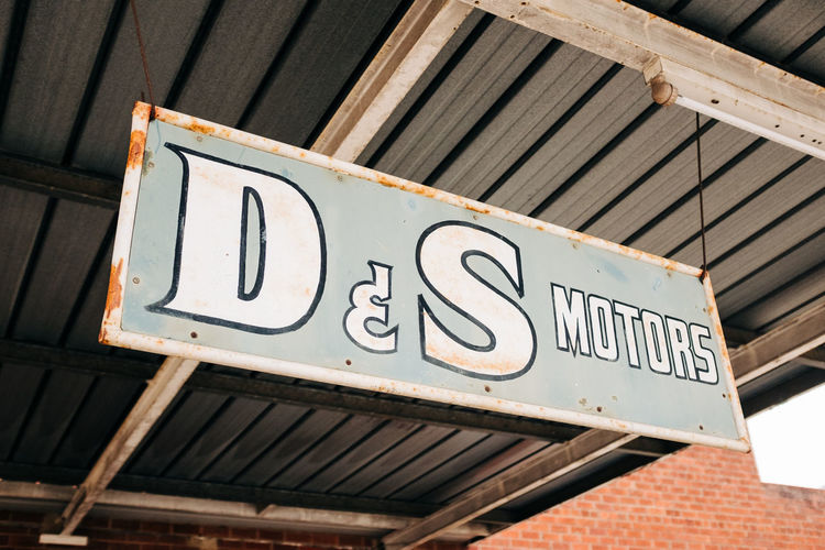 Old Sign in