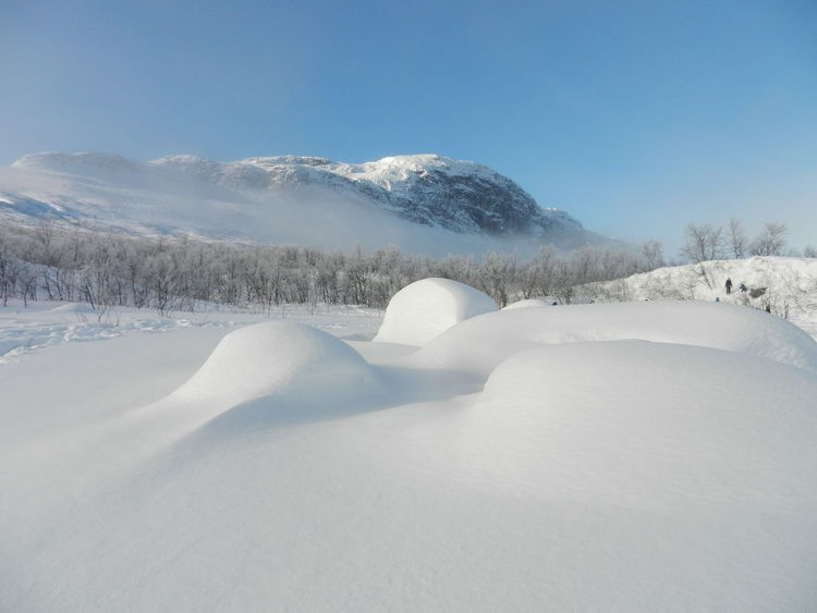 Lulep Kerkau Natural Beauty Oudoors Saltoluokta Snow Swedish Lapland Winter