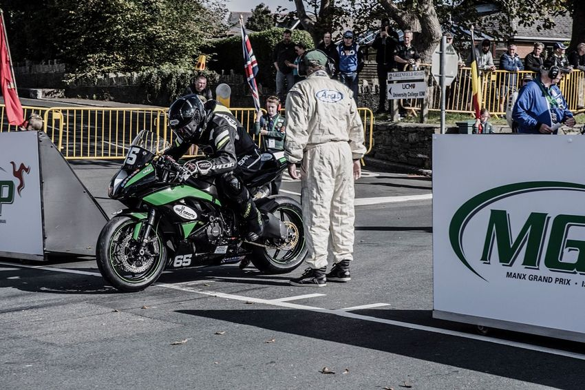 And he's off ..... James Chawke starting the junior race at the manx gp Transportation Motorcycle Men Land Vehicle Day Tree Outdoors Adult People Adults Only Motorcycle Motorbike Motorcycle Photography Nikon Nikonphotography Road Racing Isle Of Man