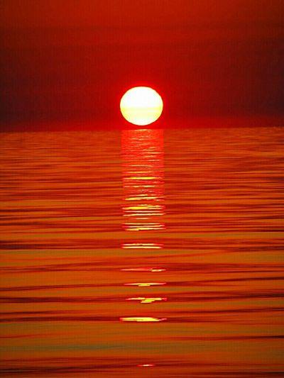 The beautiful sunset, nice