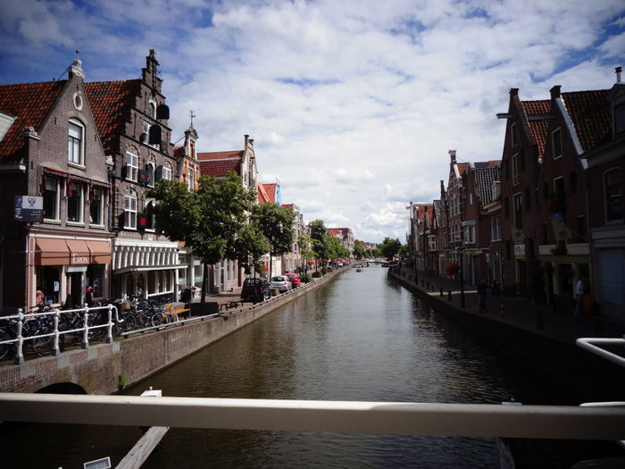 Holiday Travel Alkmaar Architecture Building Exterior Built Structure City Cloud - Sky Day Gracht No People Outdoors Sky Summer Travel Destinations Water