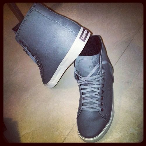 "My new walkers... Just love them Supra Walkers ""If my Supras  with me, who against me?"