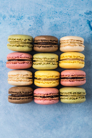 Macarons from above   food photography Food And Drink Multi Colored Macaroon Choice Stack Variation No People Food Sweet Food Still Life Ready-to-eat Close-up French Food Snack Large Group Of Objects In A Row Sweet Macarons Food Photography Foodphotography Nikonphotographer Daylight Photography From Above