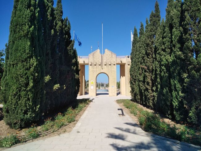 Attard Malta Malta National Air Museum Mediterranean  Clear Sky Day Direction No People Outdoors Plant Sky Sunlight The Way Forward Tree