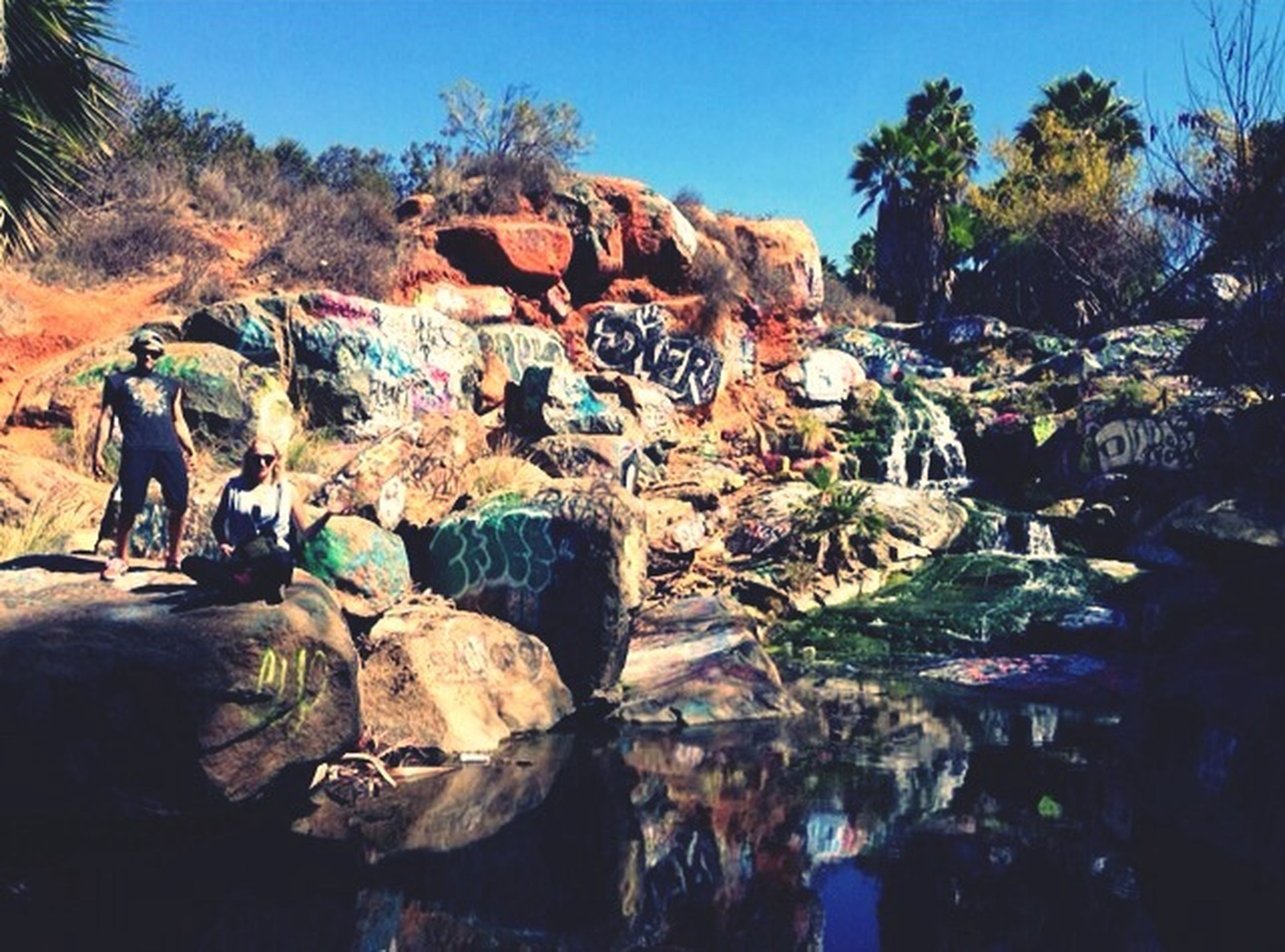 Spent the day with two of my best friends who have helped me through thick and thin since I got here :) San Diego Friends Abobe Falls Mwah!