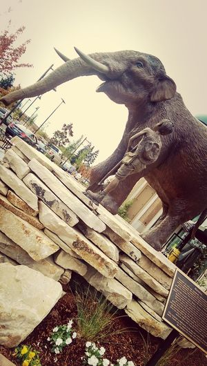 Oregon Tualatin Mammoth Statue