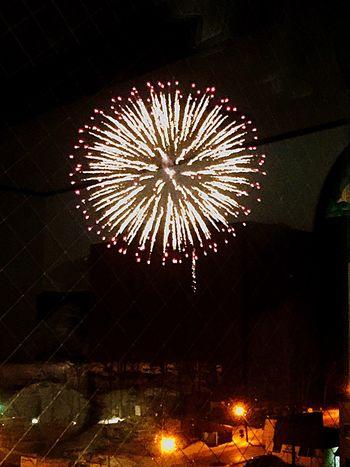 冬花火 阿寒湖 冬花火 Hanabi Fireworks 煙火