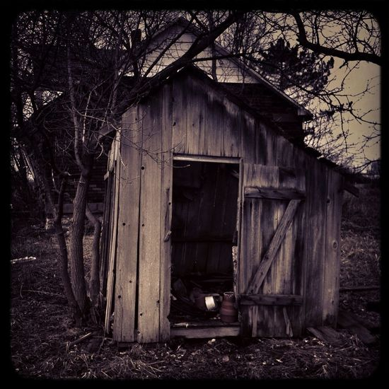 Rotting Garages And Outbuildings