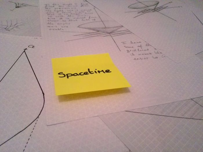 Science Project Diagrams Drawings Physics Spacetime Postit Work Beautiful Nature