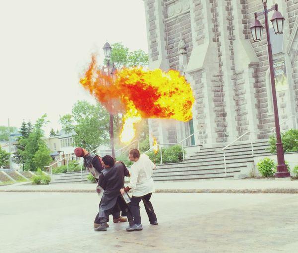 Original Experiences Fire Quebec Canada Fire Show