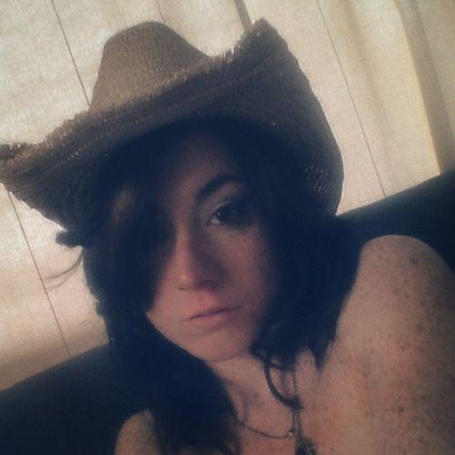 Cowgirl hat Cowgirl Portrait Of A Woman Model ShoutOut Follow4follow Brunette Hotornot KAWAII Me Goodmorning