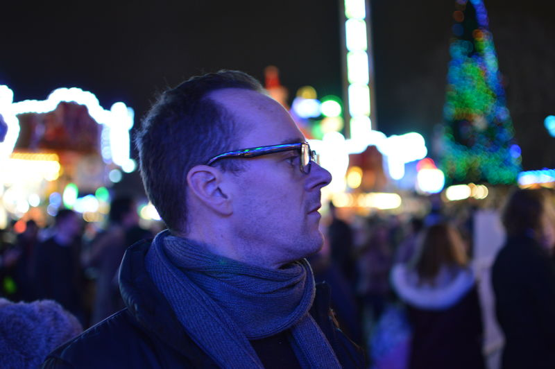 Winter Wonderland, Hyde Park London, 2015 Arts Culture And Entertainment Carnival Carrousel Darkness And Light Depth Of Field Funfair Happiness Headshot Human Face Light And Shadow Nightphotography Person Real People Selective Focus