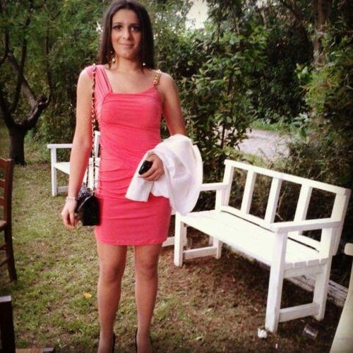 Maggio2013 Vestito Corallo Borsa giacca giardino chemaleaipiedi