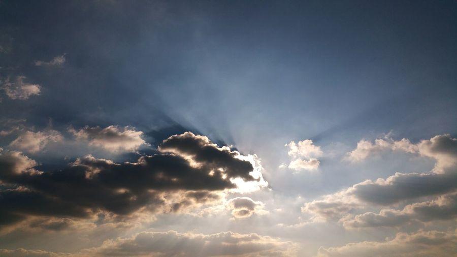 Sky Ciel Soleil Sun Nuages Nuage Ciel Et Nuages