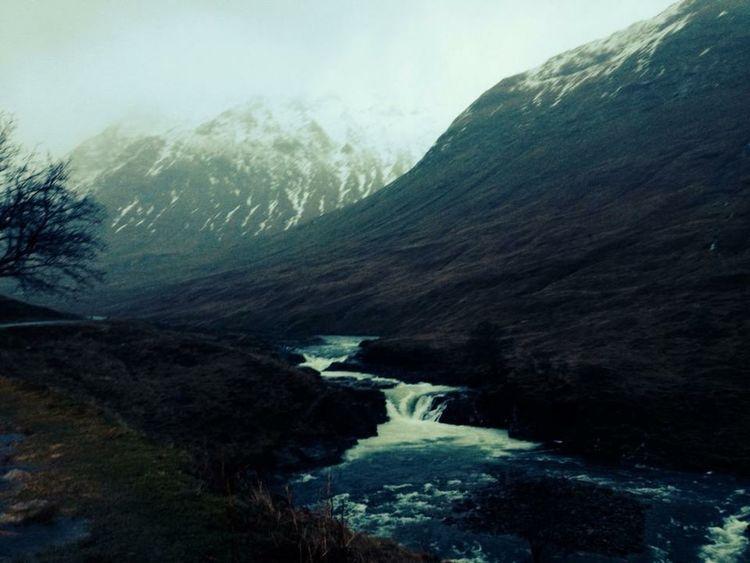 Glen Affric Scottish Highlands Scotland