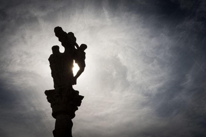 Silhouette of a cruceiro in Combarro, Pontevedra Cloud - Sky Combarro Cruceiro Crucifix Day Galicia Jesus Christ Low Angle View Nature No People Outdoors Pilgrimage Religion Sculpture Silhouette Sky SPAIN Statue Sun