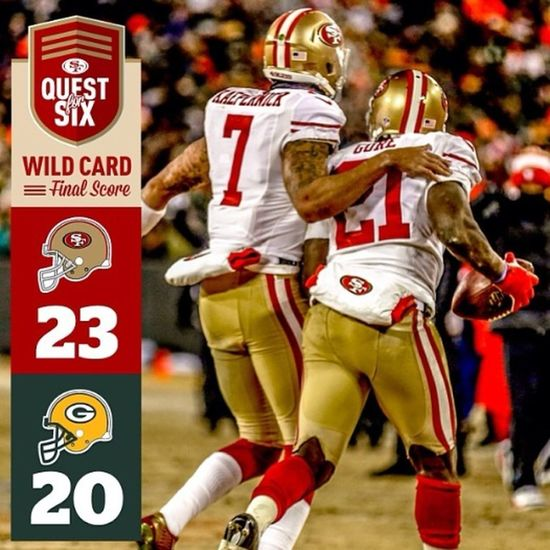 NFL NFLPLAYOFFS Fortyniners Football