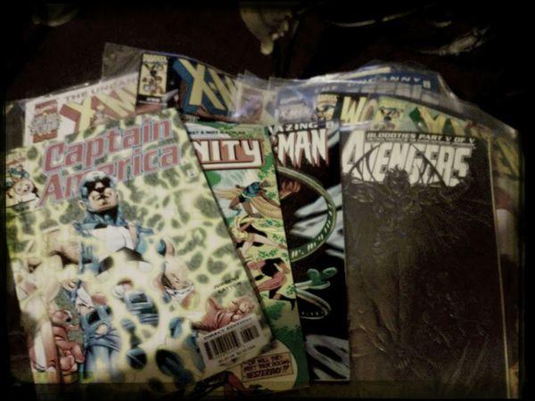 Comics Classics Xmen Captainamerica