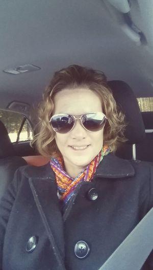 On the road again... Self Portrait Me Starting A Trip Bighead Me