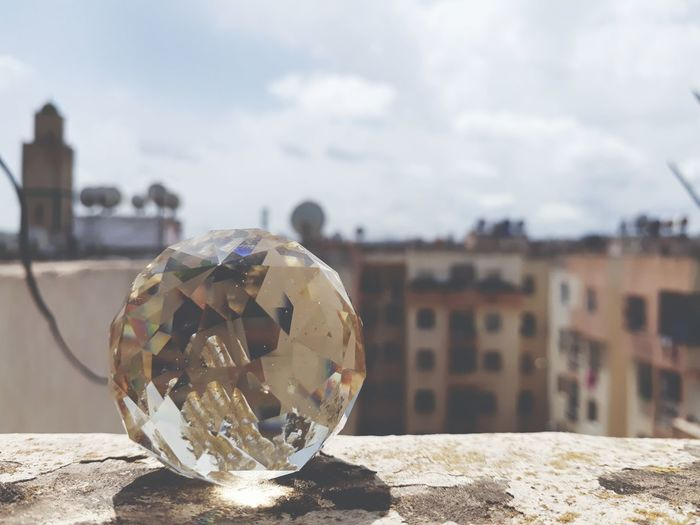 EyeEm Selects Sky Crystal Ball Christmas Ornament Christmas Decoration Decorating The Christmas Tree Paranormal Bauble Fortune Telling Christmas Disco Ball Religious Event Christmas Market Planet Earth Christmas Bauble Santa Claus Tree Topper