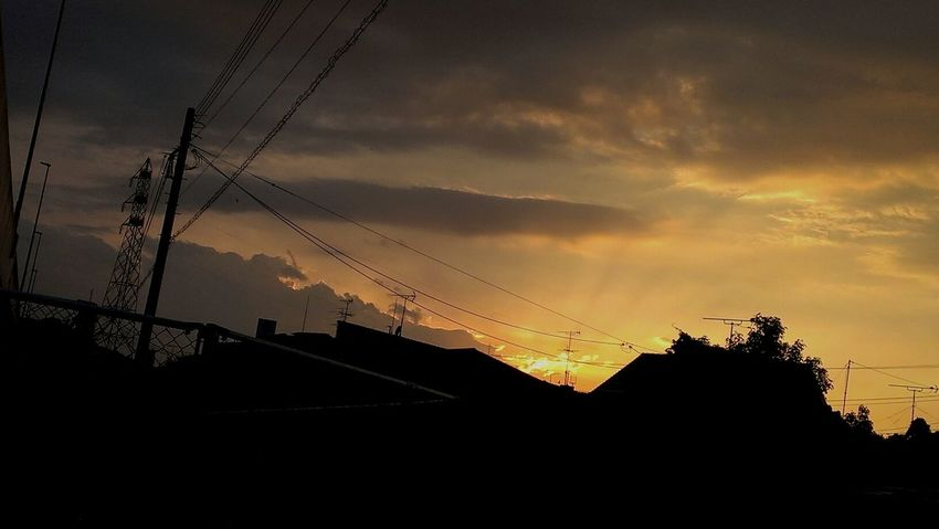 Sunset my town. Sunset Sunset Silhouettes Steel TowerLC Sky And Clouds Skylovers Beautiful Sunset