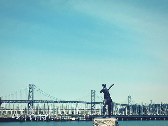 Giants Baseball bay bridge