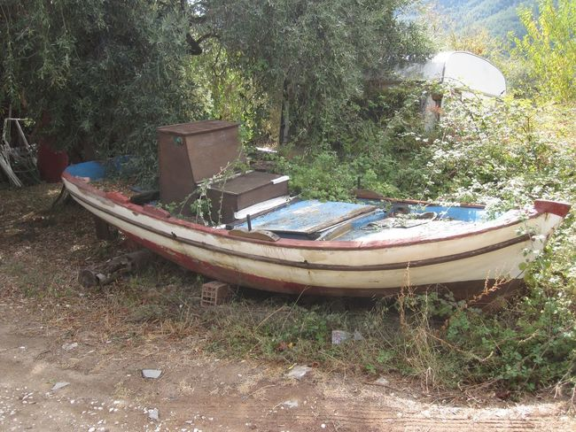 Thassos Island Thassos, Greece Thassos Seen Better Days Boat Boats Derelict & Abandoned Derelict