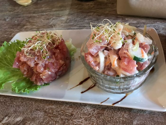 Raw fish - tuna tartare - poisson cru - tartare de thon - @ Shinetari Tahiti The Week On EyeEm