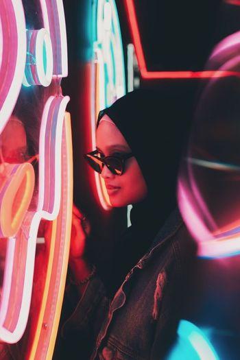 Neon Portraits