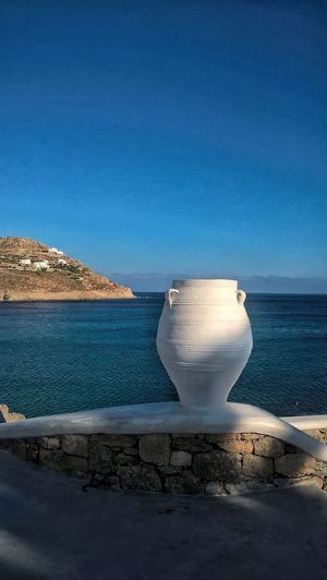 When in Greece... Vase White Vase Scenic Landscapes Greek Sea White And Blue Sea Background Places You Must See Travel Photography
