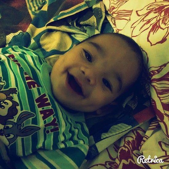 Nada é mais puro do que um sorriso de uma criança. Meuprincipe ???