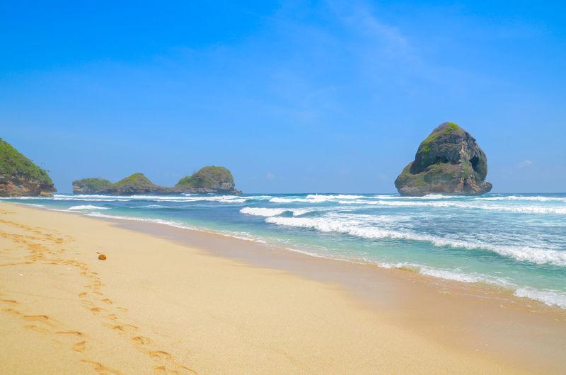 Gua Cina Beach,