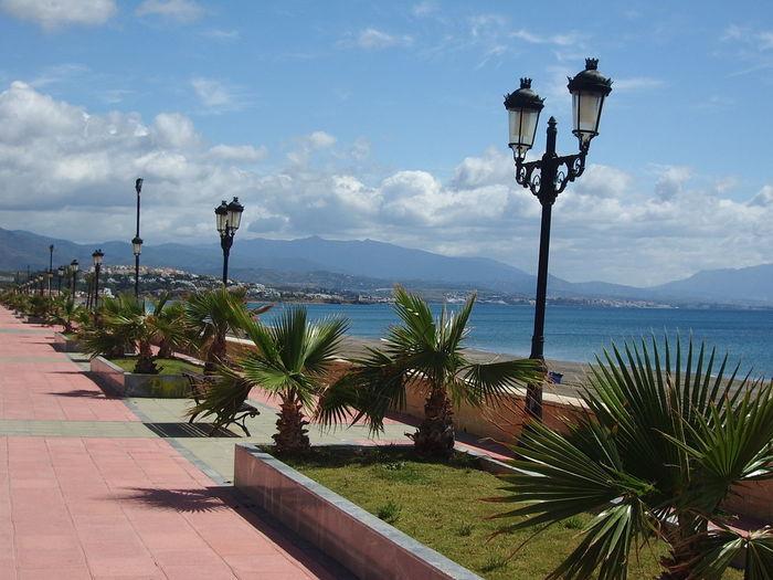 The promenade at Duquesa Duquesa Promenade SPAIN Seaside