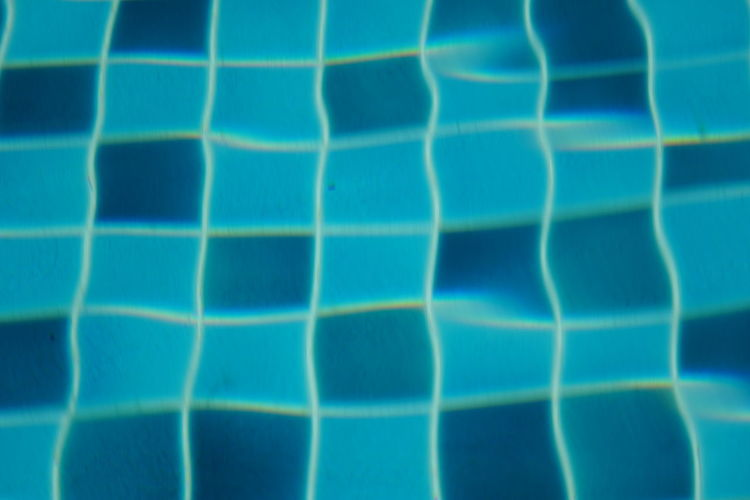 Pool Swimming Pool No People No Person Day Backgrounds Full Frame Textured  Blue Abstract Pattern Close-up Tiled Floor Wave Pattern Grid Mosaic