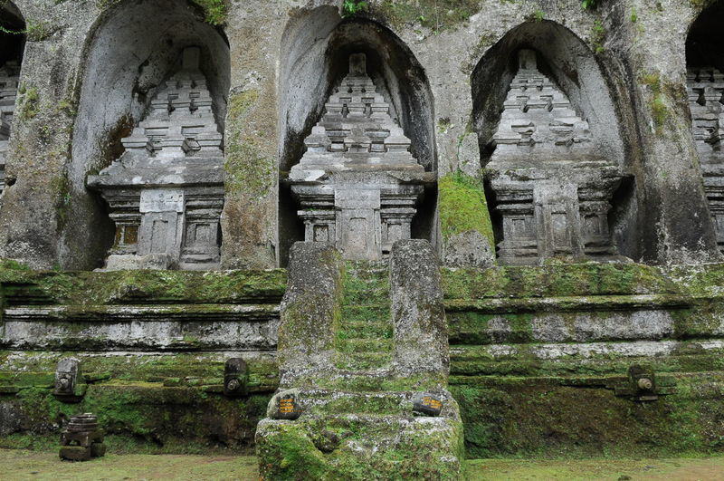 Gunung Kawi Sacred temple Arch Archeology Architecture Bali Built Structure Day Entrance Green Color History INDONESIA Old Outdoors Past Sacred Places Steps Stone Stone - Material Stone Material Te The Past