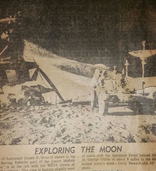 vintage newspaper Moon Walking On The Moon.... Moon Landing Historic Event Event Newspaper Old Old Newspaper Aged Man Space Exploration Astronomy Space Suit Exploring USA Famous Article Paper Ink Backgrounds Close-up Capital Letter Written Western Script Information Historic Text Single Word Information Sign Alphabet