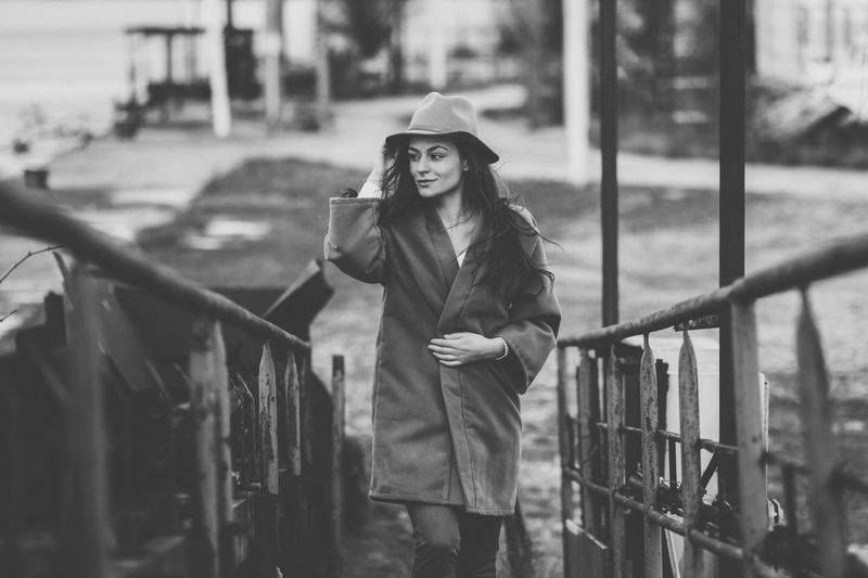 Veronika Fashion One Person Outdoors Old-fashioned The Week On EyeEm Girl Arts Culture And Entertainment People Suit Fujifilm Xpro2 Adult Real People Adults Only Day