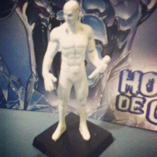 Coleção Marvel Miniatura Art Hq ICEMAN  Comics Happy Geek Boneco Estatua Actionfiguren Nerd Mais um para coleção!