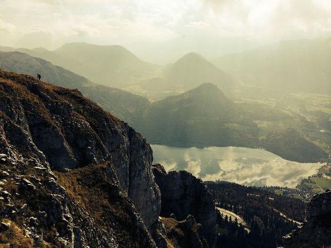 Loser Altaussee Mountains Mountain View Climbing Climbing A Mountain