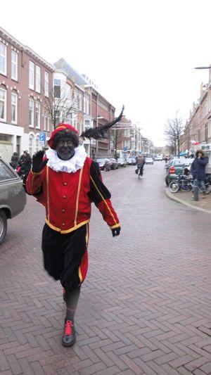 City Life Dutch Culure Full Length Lifestyles Nostalgic  Real People Street Togetherness Urban Walking Weimarstraat Zwarte Piet