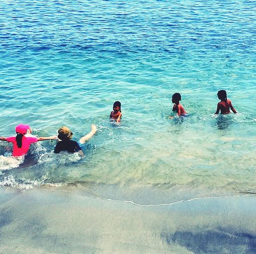 Lombok-Indonesia Island Life Two Worlds Local And Tourist Courious Sunprotection Children Photography Kidsphotography Swim In Sea Holiday Travel Photography Beachphotography Cristal Clear IPhoneography Tourist Pastel Power Eye4photography  EyeEm Best Shots EyeEm Nature Lover EyeEm Gallery EyeEm Best Edits EyeEmBestPics Blue Serie Balancing Elements