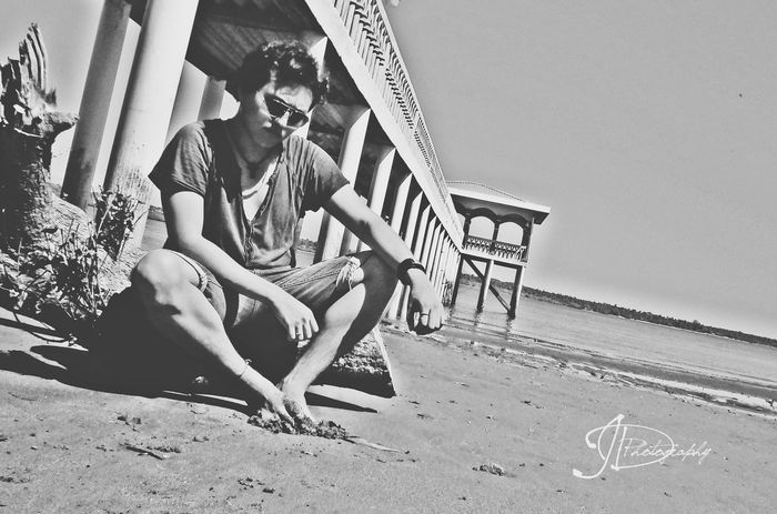 EyeEm Best Shots Blackandwhite That's Me Beach