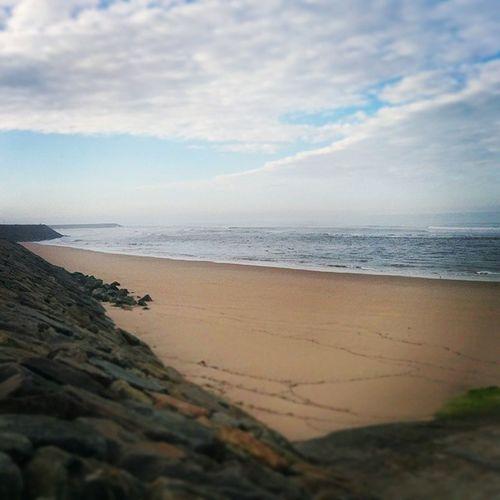 Hoje está assim :) Beach Christmasday Christmas Morning Sea