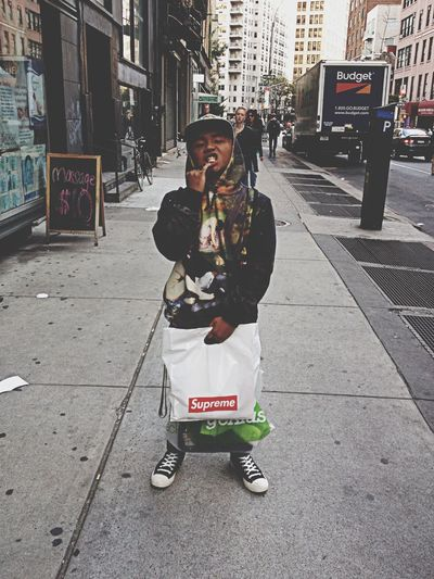 L NYC Supreme Street Fashion