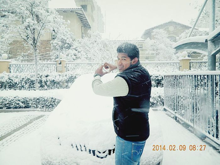 snow and meeeee.........