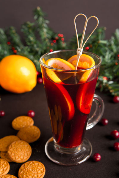 Glintwine Winter Close-up Cold Day Drink Drinking Glass Focus On Foreground Food Food And Drink Freshness Fruit Glühwein Healthy Eating Indoors  No People Red Refreshment Sweet Food Warm Drink
