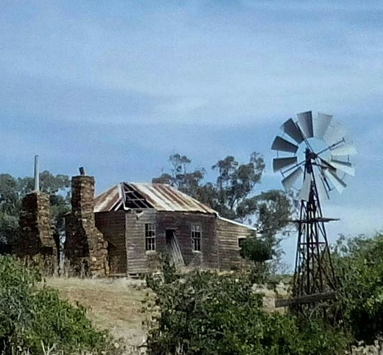 Old House Australian Landscape Australia Windmill Goldmining Outdoors Outdoor Photography Countryside Abandoned Buildings New South Wales