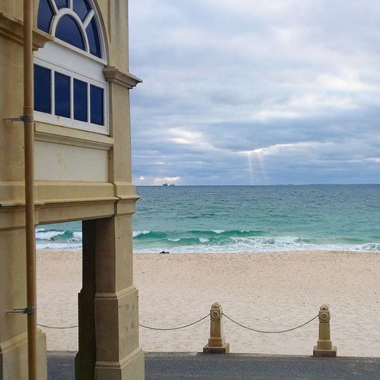 Life gets better as soon as you stop waiting for the world to come to you Oldfriends Cottlesloe Beachlife WA Perth travel Australia seeaustralia